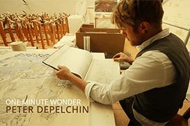 One minute wonder met Peter Depelchin