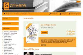 Webshop voor een fictieve boekenwinkel